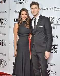 Hollywood couple: Both are pursuing movie careers with Nina wrapping production on the romantic comedy Crash Pad and Austin filming the sci-fi movie Colossal with Anne Hathaway