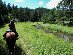 More of Hay Creek Ranch in the Black Hills, SD - Great trails and campground!