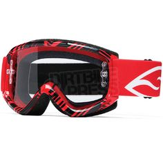 2015 Smith Fuel V.1 Max Goggles - Red Fracture