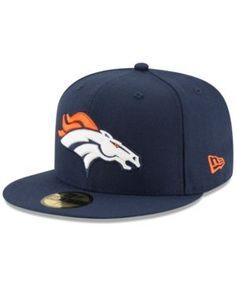 New Era Denver Broncos Team Basic 59FIFTY Cap - Navy/Navy 7 1/2