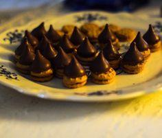 Also made some acorns #chocolate #acorn #autumn #kisses