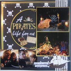 Disneyland Pirates of the Caribbean - Scrapbook.com