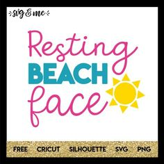 Perfect free svg for a beach vacation, honeymoon or the summertime. Make a cute DIY water bottle, tote bag or swimsuit coverup to enjoy the summer sun! Compatible with Cricut, Silhouette, and don't miss the rest of our huge library of free svgs! Cricut Tutorials, Cricut Ideas, Family Vacation Shirts, Vacation Spots, Cricut Vinyl, Vinyl Decals, Travel Shirts, Silhouette Cameo Projects, Swimsuit Cover Ups
