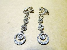 Handcrafted  2 Clip-On Silver Plated Bridal by KorgisCreations