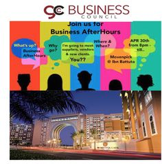 37 best gcc business events images on pinterest business events come join us for our monthly business afterhours event as we move back to the marinajlt area at the majilis terrace in the moevenpick hotel ibn battuta reheart Gallery