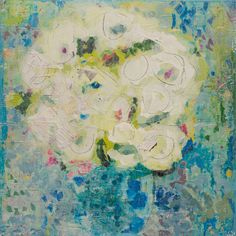 Royal Hydrangea 336x36 available at Anne Irwin Fine Art 404-467-1200