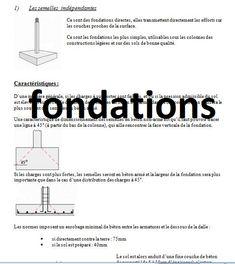 resumé cours fondations
