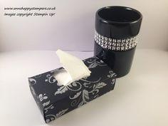 Elegant Pocket Tissue Box, UK Independent Stampin Up! Demonstrator - YouTube