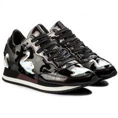 Sneakersy PHILIPPE MODEL - Etoile TBLD NC02 Cignes Noir