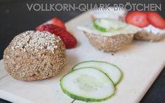 Rezept Vollkorn-Quark-Brötchen