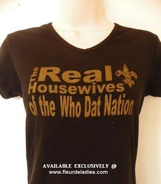 Real Housewives Saints style!