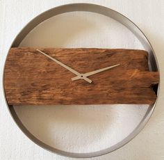 1000 ideas about wanduhr holz on pinterest wall clocks. Black Bedroom Furniture Sets. Home Design Ideas