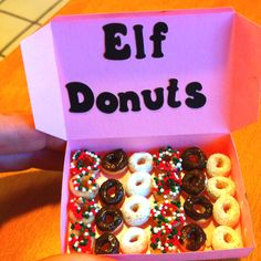 Cheerio donuts for the elfs