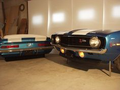 1969 Camaro couch and desk.