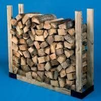 Rutland Stack-N-Store Adjustable Log Rack Kit. Hy-C. Brand for sale online Firewood Holder, Firewood Storage, Recycled Trampoline, Wood Logs, Fire Wood, Starting A Farm, Woodworking Projects, Diy Projects, Zen
