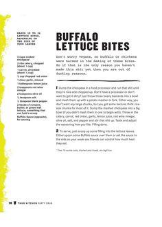 Buffalo Lettuce Bites - Thug Kitchen