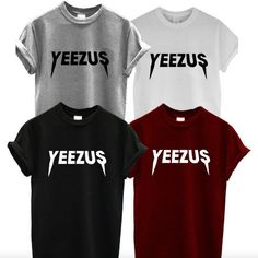 I want this Kanye West shirt in a small in the color cardinal red. If those sell out then I want the grey one.