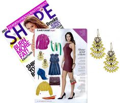 Our Norah Chandeliers made an appearance in SHAPE Magazine. Snag these stunners by Stella & Dot. www.stelladot.com/angiehurlburt