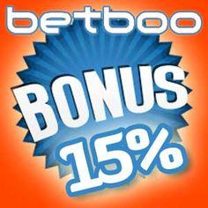 Depois de usar o seu bônus de boas vindas do bingo do Betboo, tem outro bônus permanente de 15% quando você faz o seu depósito com o EntroPay.    Os bônus de boas vindas são uma grande vantagem para aqueles que jogam bingo online pela primeira vez.