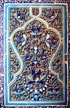 Shah-e Zinda, photography:Erdinç Bakla, Islamic Tiles, Islamic Art, Wooden Books, Art Tiles, Turkish Art, Iron Work, Arabesque, Tile Design, Animals And Pets
