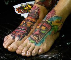 #crashbantikut #playstation #tattoo #watercolortattoo #watercolor #videogametats #custom #athens