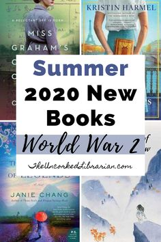 Are you looking for new WWII books to read this summer 2020?  Uncover new books set during WW2 and some of the most anticipated books about World War 2 perfect for WWII historical fiction lovers on this reading list. Great Books To Read, Good Books, Best Historical Fiction Books, Book Club Books, Book Lists, Indie Books, Summer Books, Fiction And Nonfiction
