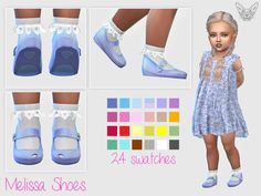 """Melissa shoes for toddlers at giulietta """" sims 4 updates Toddler Cc Sims 4, Sims 4 Toddler Clothes, Sims 4 Cc Kids Clothing, Sims 4 Mods Clothes, Sims Mods, Toddler Shoes, Kid Shoes, The Sims 4 Pc, Sims 4 Cas"""