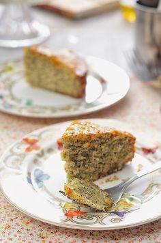 ¡Qué cosa tan dulce!: Bizcocho de mandarina y semillas de amapola