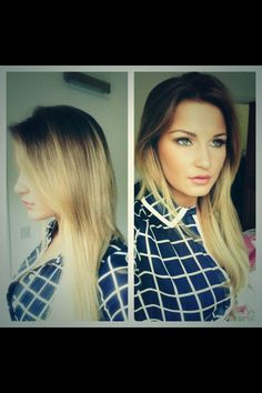 Love her hair and natural make up ♥♡♥