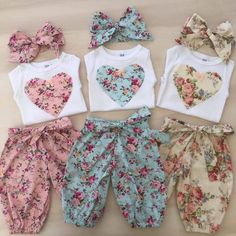 New baby onesies ideas sew ideas Cute Baby Clothes, Doll Clothes, Baby Girl Fashion, Kids Fashion, Womens Fashion, Baby Outfits, Kids Outfits, Little Girl Dresses, Baby Dresses