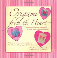 Origami from the Heart Kit Origami Kit with Book 48 Papers 16 Projects >>> Want to know more, click on the image.