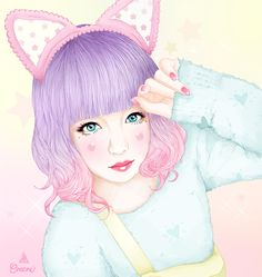 japonese-cute-crecre-pastel-dessin-belle-fille-blog