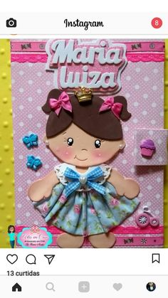 Foam Crafts, Preschool Crafts, Diy And Crafts, Crafts For Kids, Arts And Crafts, Paper Crafts, Class Door Decorations, Felt Bookmark, Girly Cakes