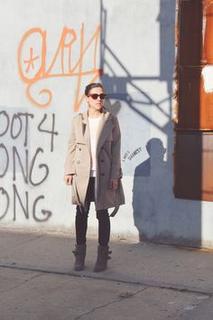 Layering for Fall #neutrals #redhook #brooklyn