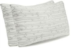 Premium Shredded Hypoallergenic Certipur Memory Foam Pillow Natural Contour, Memory Foam, Coloring Books, Bed Pillows, Bamboo, Tapestry, Legs, Floral, Top