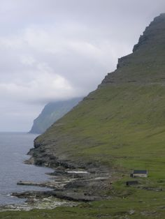 Looking northward from the Svínoy, a remote island in the northeast of the country.
