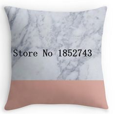 Cool pink Coral Marble  Double size Printing Square nice Pillowcase for12 ''14''16''18'' 20''24'' inch free shipping #Affiliate