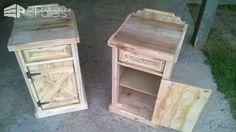 Pallet Bedside Tables Pallet Desks & Pallet Tables