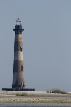 If I am ever near a coastal town, I try to hunt down any lighthouses that might be nearby. This is Morris Island's lighthouse near Charleston, S.C.