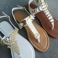 White sandals, love them! (No link)