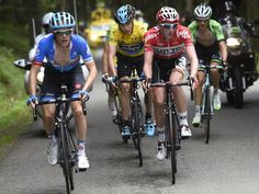 CRITERIUM DU DAUPHINE STAGE TWO GALLERY Andrew Talansky and Jurgen van den Broeck were among the lead contenders as a group of six eventuall...