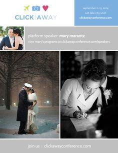 Photographer Mary Marantz will be speaking at Click Away 2014! #clickaway #photographyconference