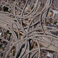Author: Unknown Title: #junction This pin relates to interdependence, because these roads all work together to keep traffic clear. Each have their own purpose, and are put in a specific place for a reason.