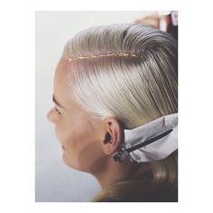 What are you changing? #BENJAMIN #hair #runway #sidepart #glitter #editorial #hairspo #fashionphotography #bblog #salonbenjamin #inspiration #Padgram
