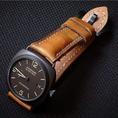 Medeline Serie on Panerai Radiomir, price for: $145 (1,450 juta) without buckle