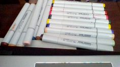Copic Markers are essential to any artists cabinet. These can be purchased on Amazon and Michaels ;)