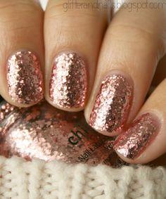 Rose Gold Nail Polish