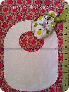 Sunny Vanilla: How to sew a bib + FREE pattern