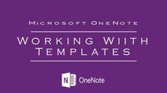 Make Your Teaching Live VERY SIMPLE using Microsoft OneNote's Awesome Templates! | @MSOneNote