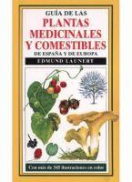 """""""Guía de plantas medicinales y comestibles de España y de Europa"""",  Edmund Launert. http://absysnetweb.bbtk.ull.es/cgi-bin/abnetopac01/O7008/IDbfd33c5c?ACC=161 #herbario"""